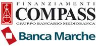 Compass e Banca Marche Logo