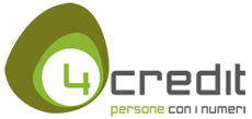 Logo di 4Credit s.r.l. - Prestiti e Cessione del Quinto dello Stipendio e della Pensione