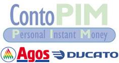 Logo Conto PIM di Agos Ducato SpA