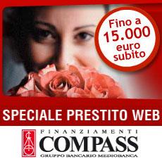 Prestito personale Speciale Web di Compass