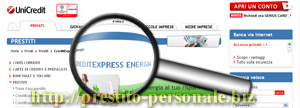 Analisi del prestito CreditExpress Energia di UniCredit