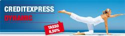 Offerta CreditExpress Dynamic UniCredit in promozione fino a Giugno 2011