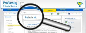 Analisi del prestito personale ProFacile50 di ProFamily SpA