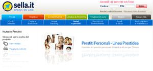 Banca Sella: linea di prestiti personali Prestidea
