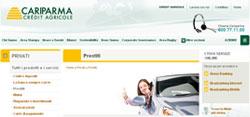 Gran Prestito Auto di banca Cariparma