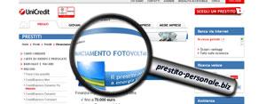 Finanziamento Fotovoltaico UniCredit SpA: analisi del prestito personale