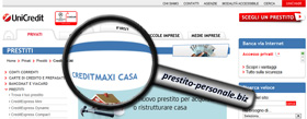 Analisi di CreditMaxi Casa di UniCredit SpA