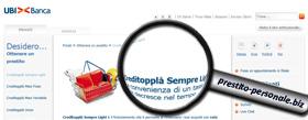 Creditopplà Sempre Light di UBI Banca: scheda di analisi
