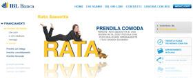 Rata Bassotta Banca IBL: promozione estate 2011