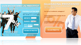 Snapshot dell'Home Page di Prestiamoci.it