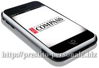 Compass: al via il sito mobile