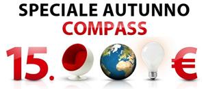 Speciale Autunno Compass: istantanea dalla pagina della promozione on-line