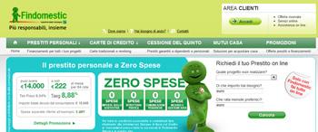 Promozione Speciale Web FIndomestic Banca di Febbraio 2012