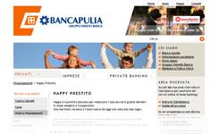 Happy Prestito di Banca Apulia - Screenshot dal sito ufficiale