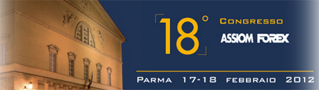 XXIII Assiom Forex Congresso Congress , Modena The Congress is organized by ASSIOM FOREX, The Financial Markets Association of Italy, which represents, in terms of the number of members, the largest Italian association of market intermediaries at an international level.
