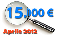 Prestito 15.000€ ad Aprile 2012 - Confronto preventivi on-line