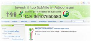 Adiconsum: dall'Home Page del sito