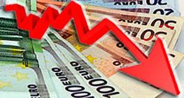 Importi dei prestiti in calo