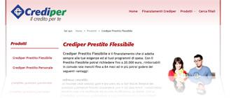 Crediper Prestito Flessibile: analisi di tassi e condizioni