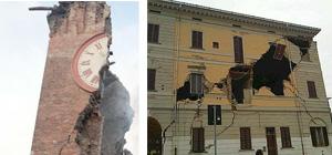 Terremoto Emilia, due immagini simbolo: Torre di Finale Emilia e Comune di Sant'Agostino