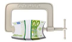 Prestiti e finanziamenti: stretta sul credito