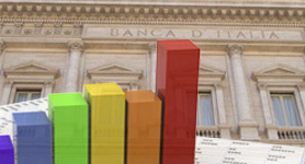Statistiche della Banca d'Italia sui prestiti bancari