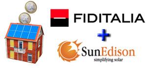 Finanziamento fotovoltaico: accordo Fiditalia-SunEdison