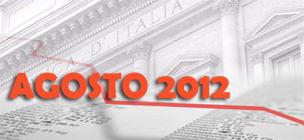 Prestiti ai privati: le Statistiche Bankitalia di Agosto 2012