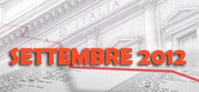 Prestiti ai privati: le Statistiche Bankitalia di Settembre 2012