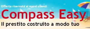 Promozione prestito personale flessibile Compass Easy di Agosto 2013