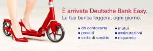 Dall'unione di Prestitempo e Deutsche Credit Card è nata Deutsche Bank Easy!