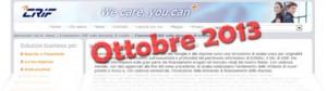 Barometro CRIF Ottobre 2013: dati sulla domanda di prestiti delle famiglie