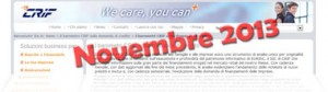 Barometro CRIF Novembre 2013: dati sulla domanda di prestiti delle famiglie
