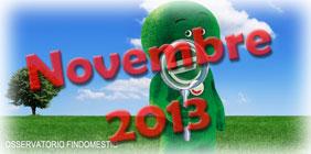 Osservatorio prestiti e consumi Findomestic di Novembre 2013
