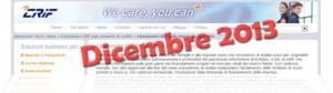 Barometro CRIF Dicembre 2013: dati sulla domanda di prestiti delle famiglie