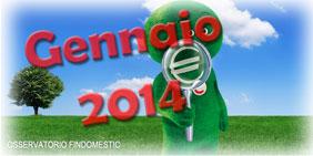 Osservatorio prestiti e consumi Findomestic di Gennaio 2014