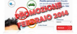 Promozioni prestiti Agos Ducato Duttilio Offerta Febbraio 2014
