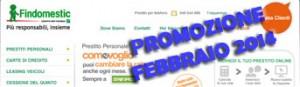 Promozione prestiti personali Findomestic Come Voglio in offerta a Febbraio 2014