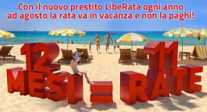 Nuovo prestito personale LibeRata di Compass promozione luglio 2014