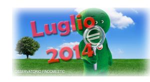 Osservatorio prestiti e consumi Findomestic di Luglio 2014