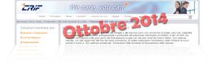 Barometro CRIF prestiti personali e finalizzati Ottobre 2014