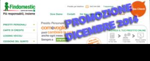 Prestito personale Findomestic Banca Come Voglio - Offerta Dicembre 2014