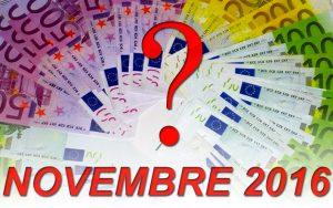 Offerte Prestiti Personali Online e Finanziamenti con Cessione del Quinto dello Stipendio e della Pensione di Novembre 2016