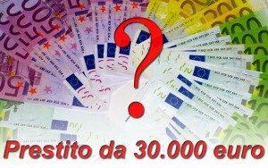 Miglior prestito personale online da 30.000 euro di Gennaio 2017